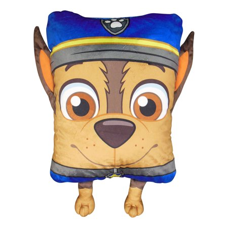paw patrol chase 3d pillow buddy 1