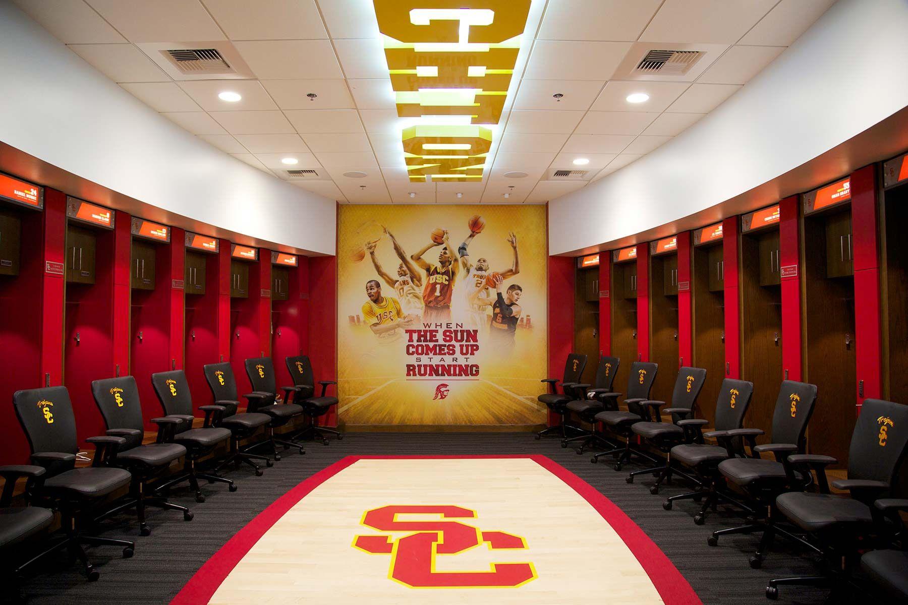 Pin By G U I B S O N On Dhs Basketball Locker Room Lockers University Of Southern California