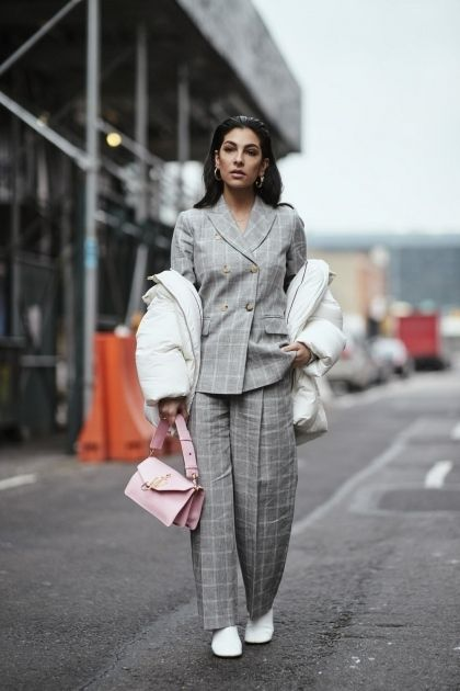 How to dress in winter to go to the office?
