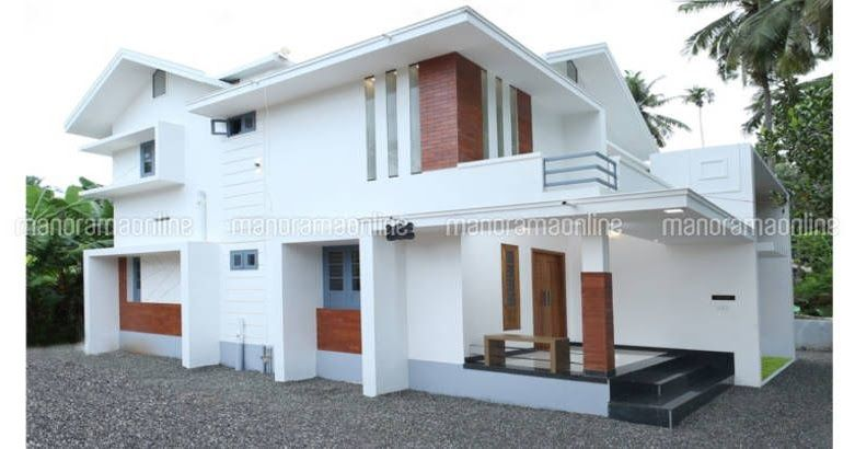 Latest 3 Bedroom Home 24 Lakhs Small Plot Home Plan 5 Cent Home Plan Architectural House Plans House Design Kerala House Design