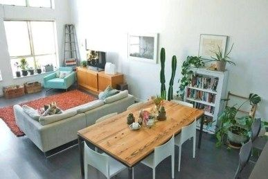 Home Epiphany Rectangular Living Rooms Living Room Dining Room Combo Condo Living Room