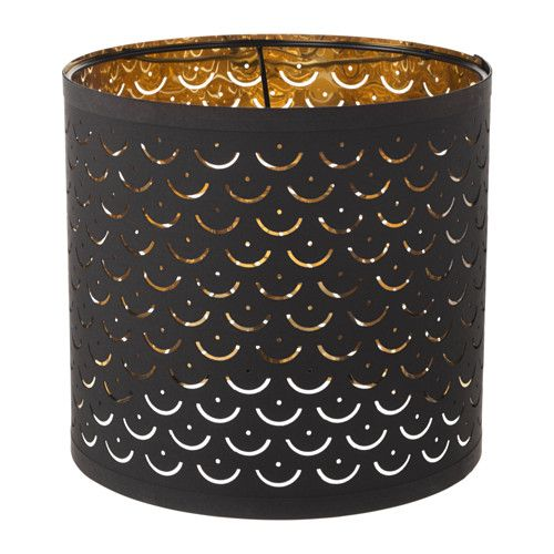 Nymo Lamp Shade Black Brass Color 9 Ikea Lamp Shade Small