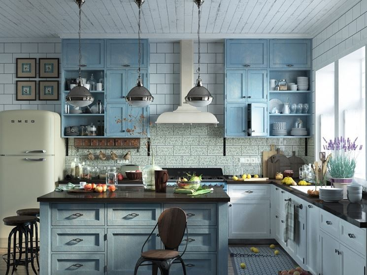 cucina carmen in verde | casa | Pinterest | Cucina, Shabby and House