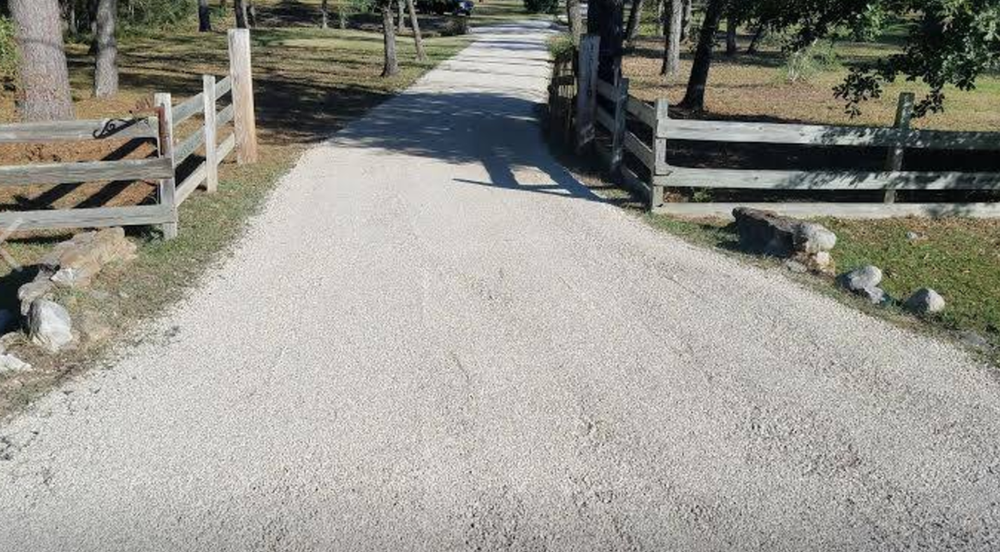 Tar And Chip Seal Driveway In Austin Tx Tar And Gravel Texan Paving Asphalt Pavement Paving Parking Lot Striping