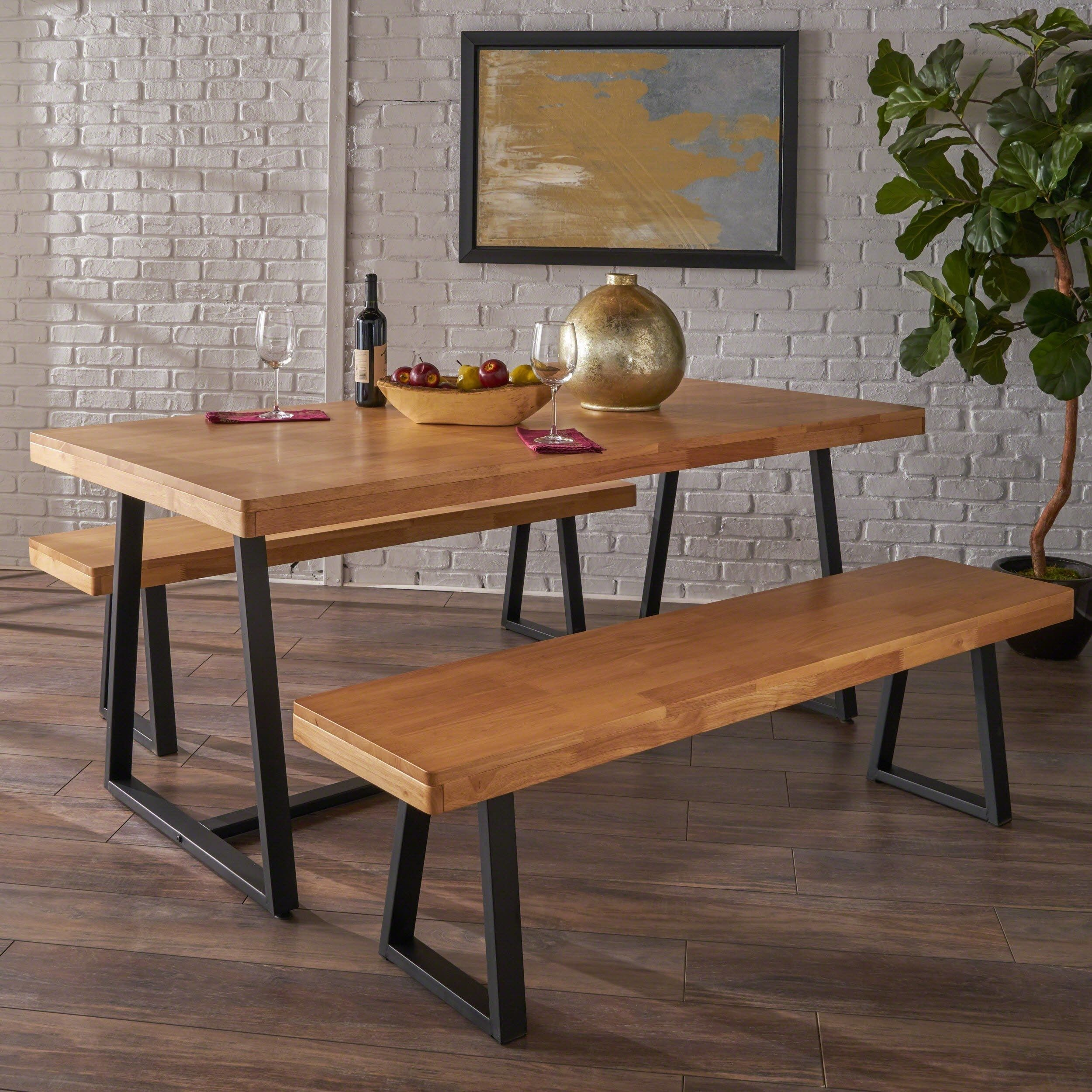 26+ Oak dining table and bench set Tips