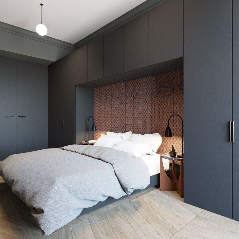66+ Great Modern Bedroom Design that Will Inspire You #bedroomapartment
