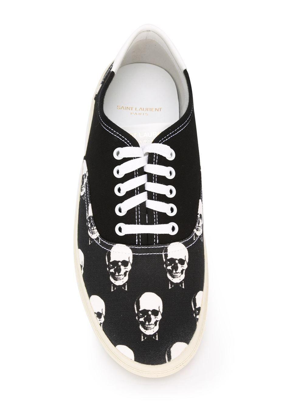 1c2a6ed1b1f Saint Laurent 'skate' Sneakers - Vitkac - Farfetch.com | Shoes ...