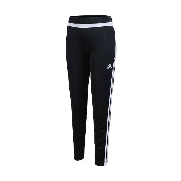 adidas Women's Tiro 15 Training Soccer Pants ($35) ❤ liked on Polyvore featuring activewear, activewear pants, adidas activewear, adidas and adidas sportswear