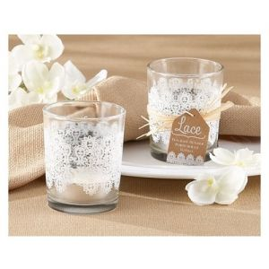 Glass Tea Light Holder Lace Set Of  Available Online From Giftlady Net Delivered Throughout South Africa