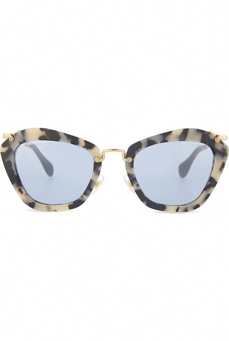 cc015d37d0ad MIU MIU - SMU 10N Havana cat eye sunglasses