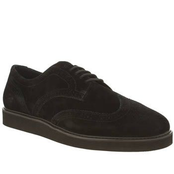Fred Perry Black Newburgh Brogue Mens Shoes Looking to update your off-duty  look? Heres your chance as the Newburgh Brogue arrives from Fred Perry.