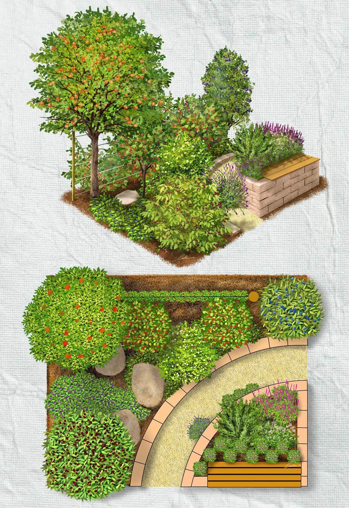 Hard Landscaping Idea Hard Landscaping Ideas Herb Garden Design Garden Design Plans