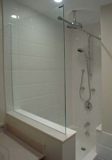 While Not Exactly A Door We Do All Types Of Frameless Shower