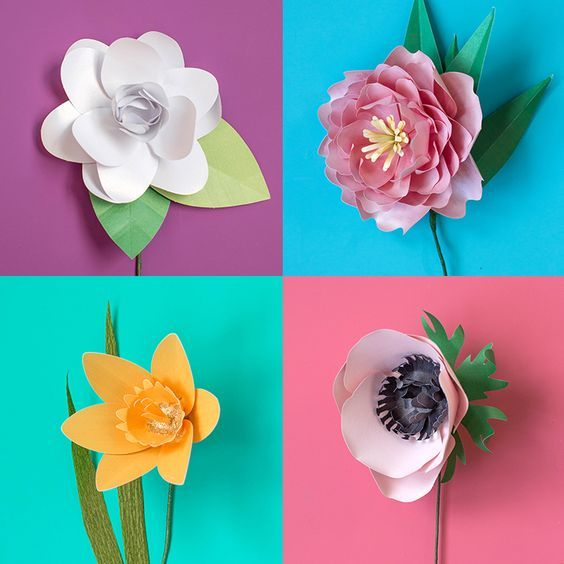 Announcing Paper Flower Kits In Our Shop Beautiful Paper Crafts