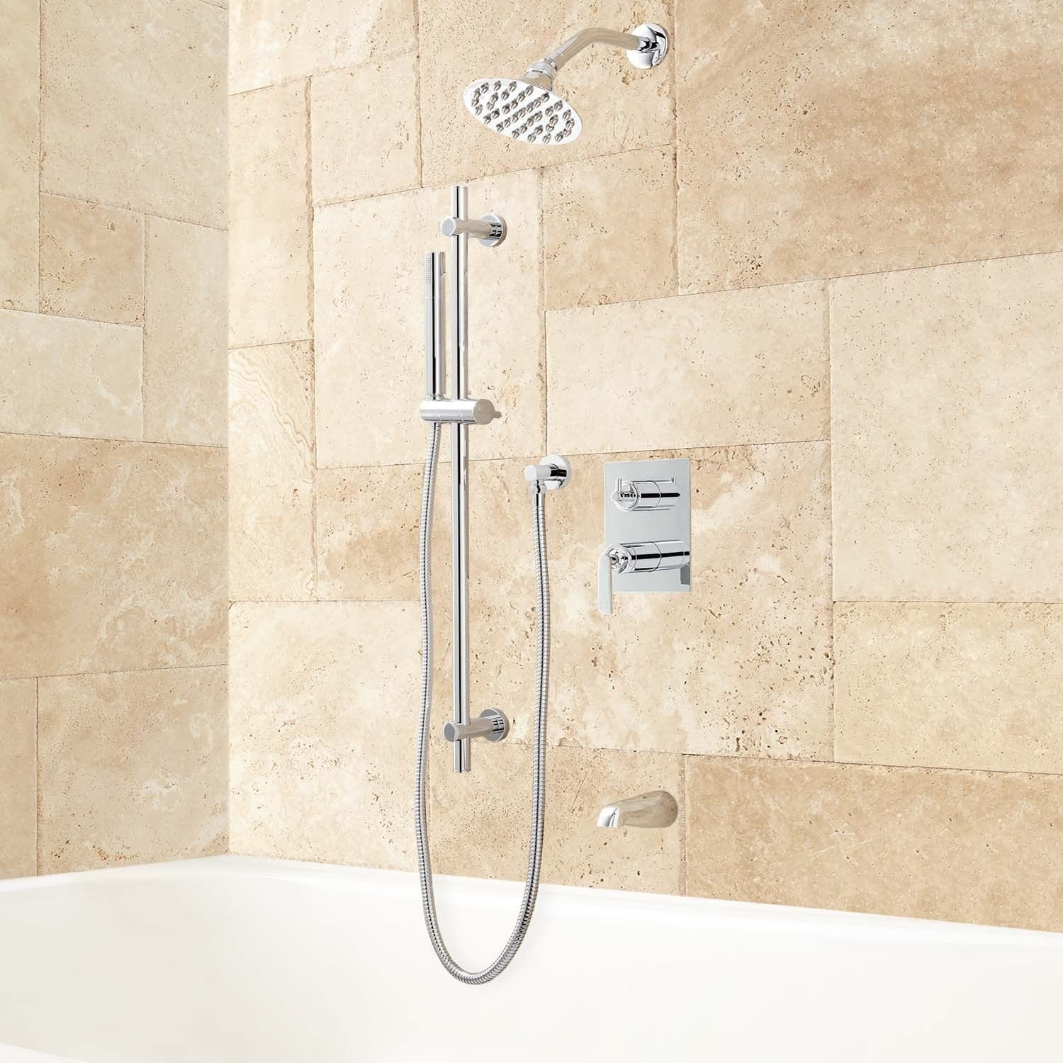 pin hand systems thermostatic exira sprays body system shower bathroom