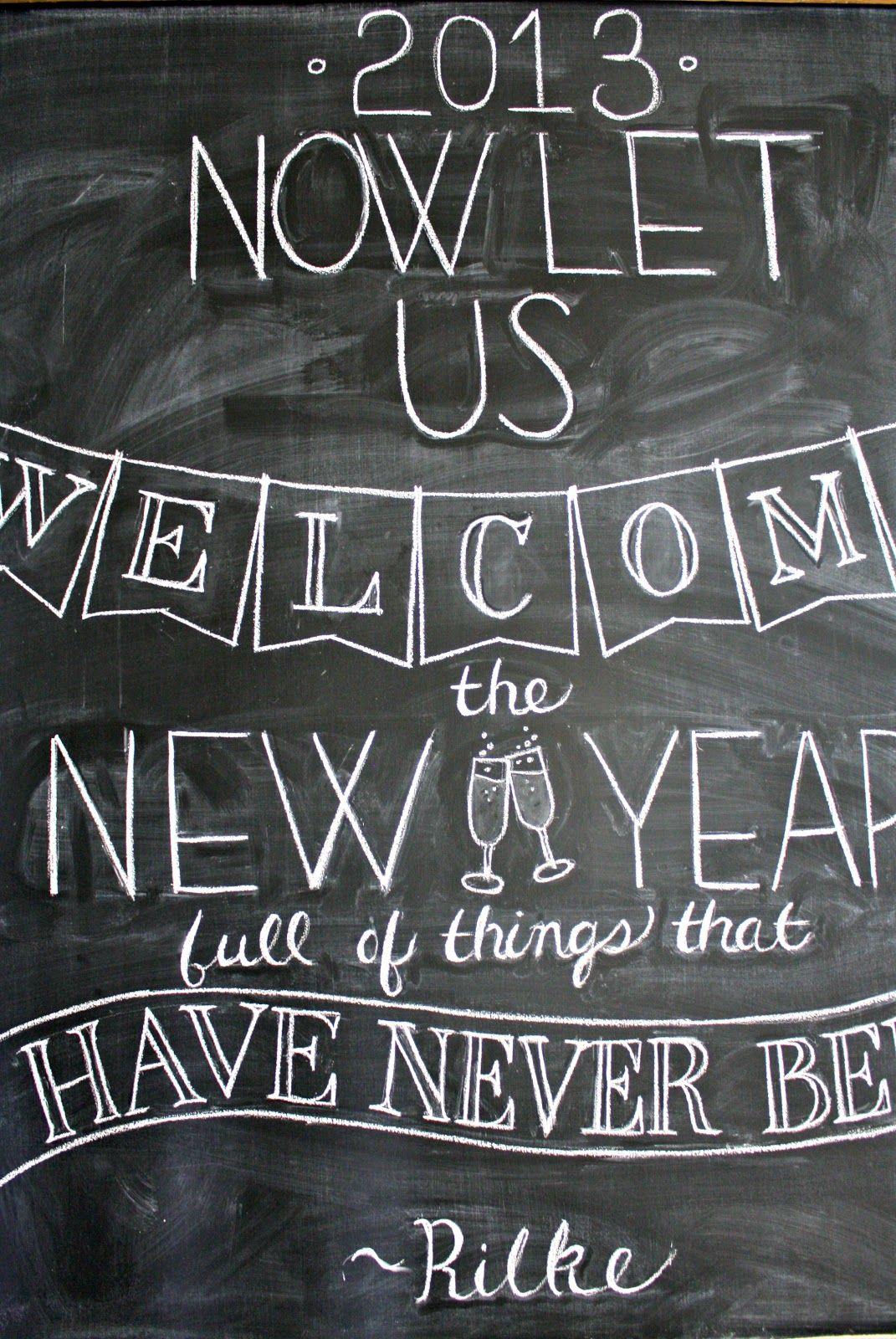 New Years Chalkboard   Chalkboard, Christmas chalkboard ...