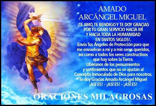 Oración Poderosa Al Arcangel San Miguel Para Abrir Los Caminos De La Abundancia Y La Prosperida Invocacion A Los Arcangeles Arcangel Miguel Oraciones Poderosas