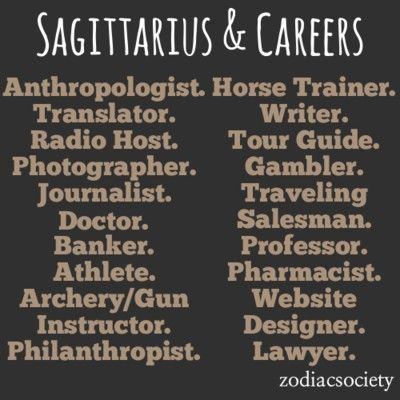 Sagittarius and Careers  I need a career change for the