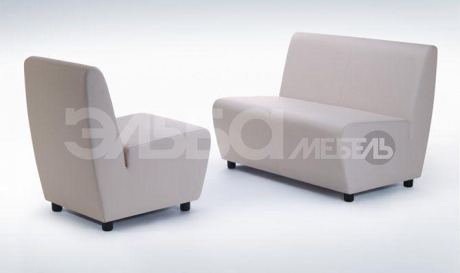 Мягкая мебель для офиса Пикколо от компании Эльба Мебель.