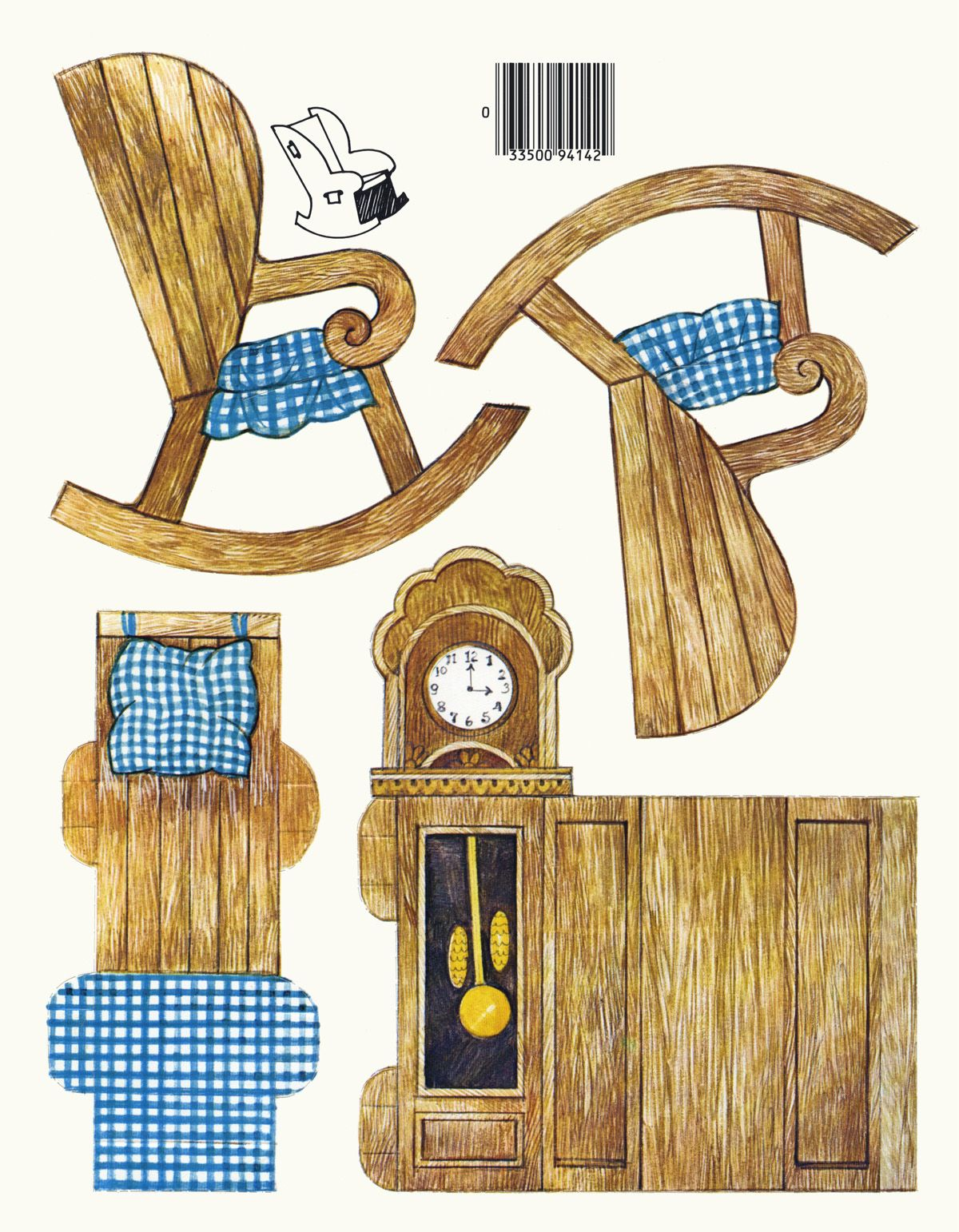Printable Dollhouse Furniture Patterns Miniature Printables More Paper Doll Images To Print And Cut Out