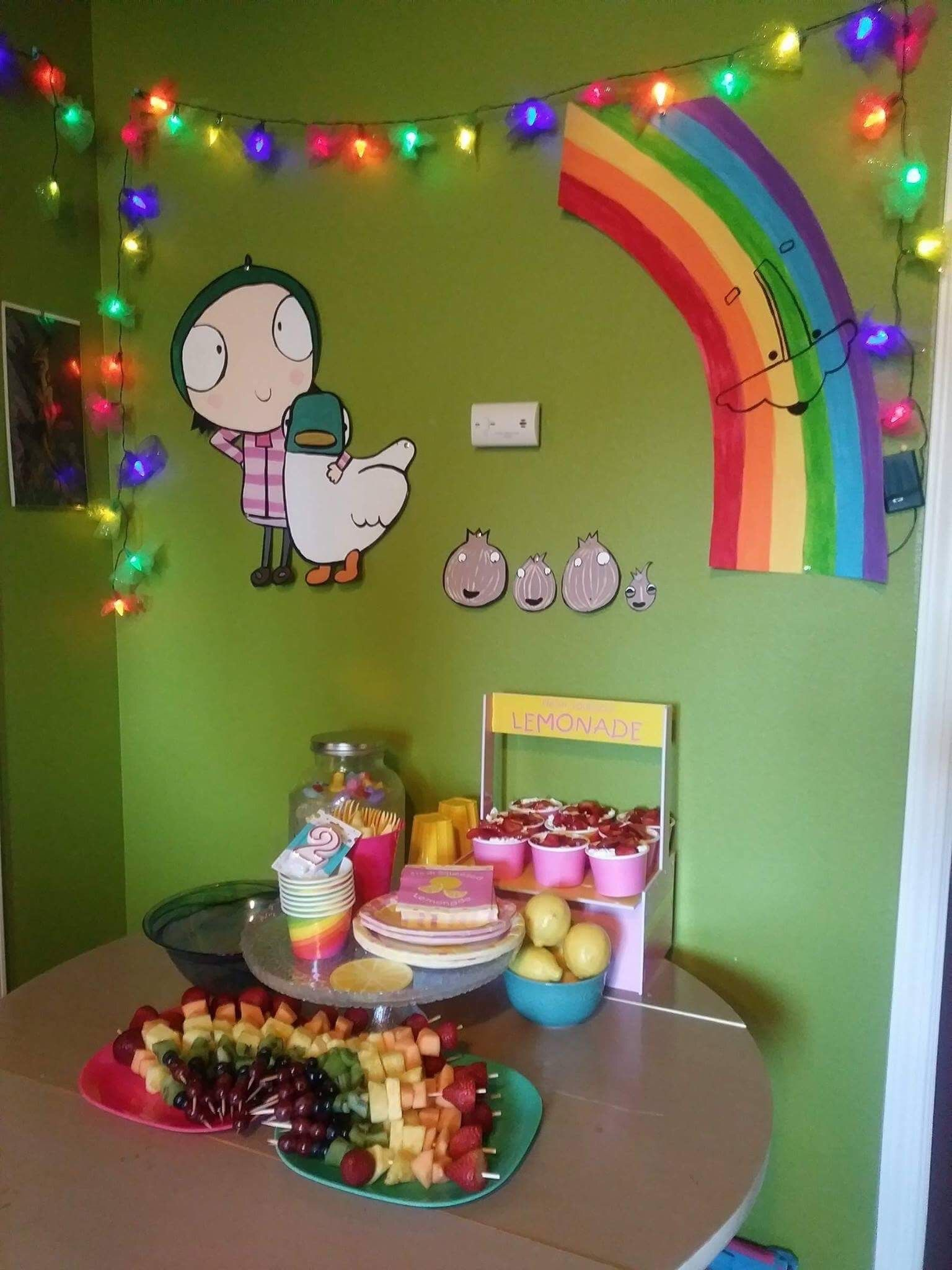Sarah And Duck Birthday Party For My 2 Year Old