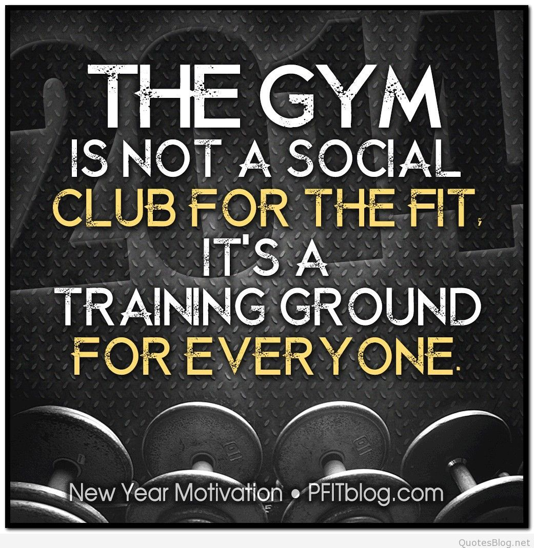 2014 The Gym · Exercise QuotesWorkout ...
