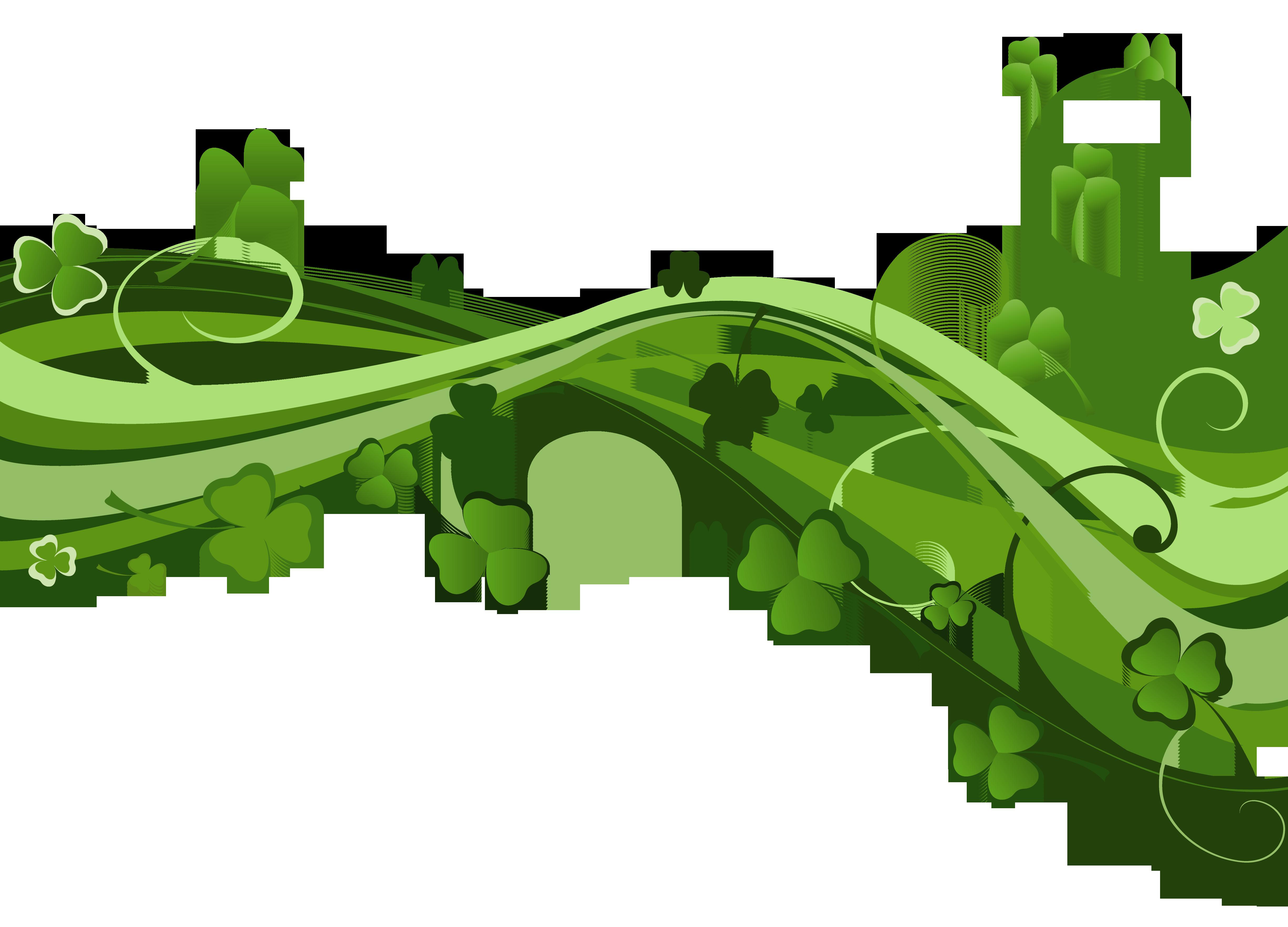 St Patricks Day Shamrock Decor PNG Clipart Clipart