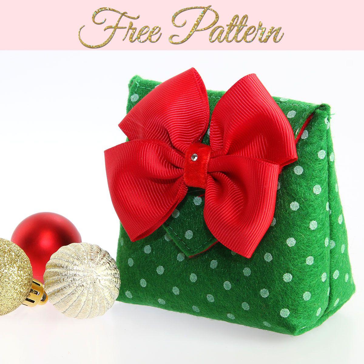 How to Make a Gift Bag: DIY Christmas Gift Bags FREE TEMPLATE ...