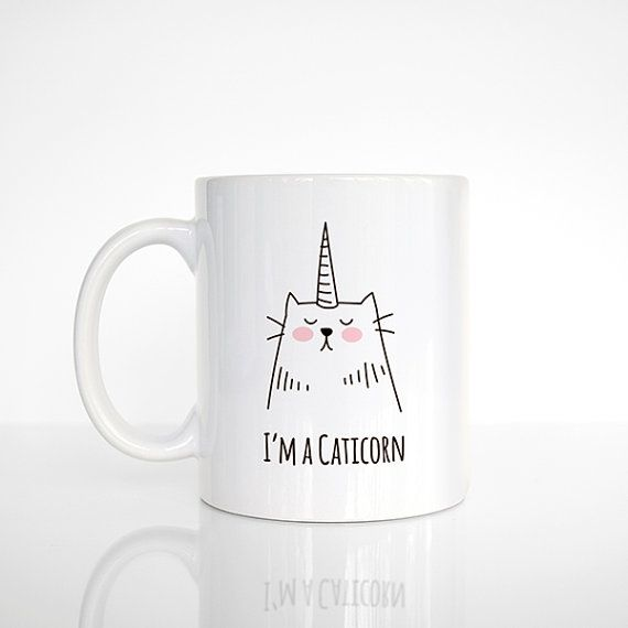 Ähnliche Artikel wie Caticorn Mug Fun Gift Idea for Her for Girl for Teen for Cat Lover Gift Cat Mug Unicorn Mug Funny Mug Cute Mug Unique Coffee Mug Cat Cup auf Etsy