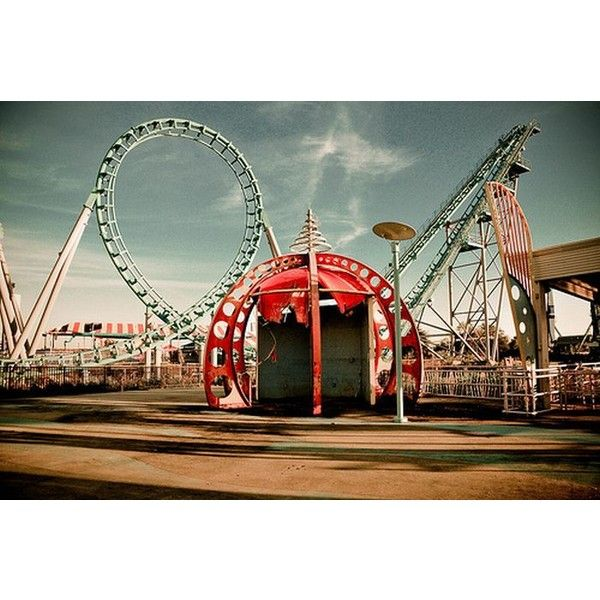 Abandoned Six Flags In New Orleans (54 Pics) Liked On