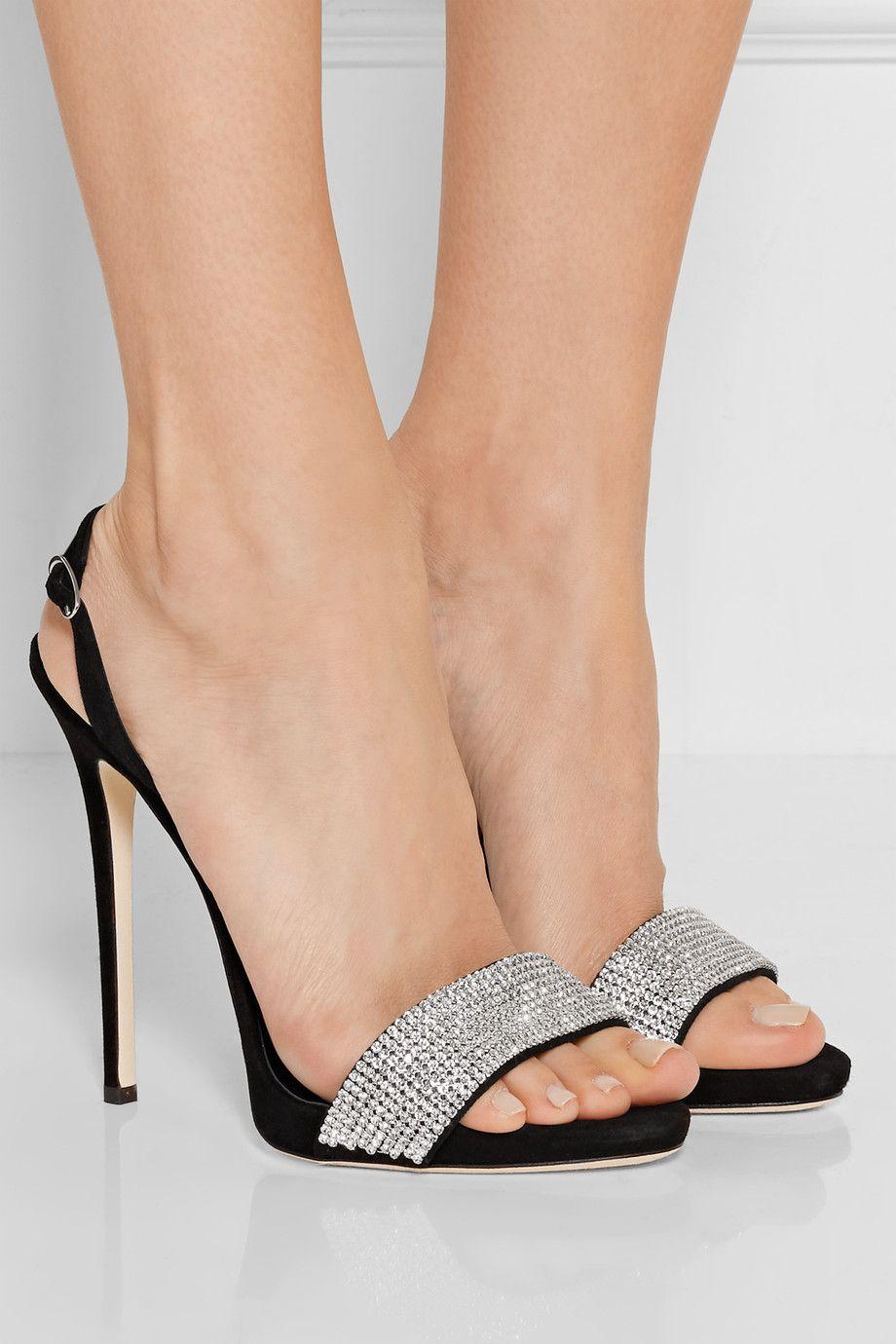 Sandales Post Orteil Les Chaussures - Lilas 2qZ4t