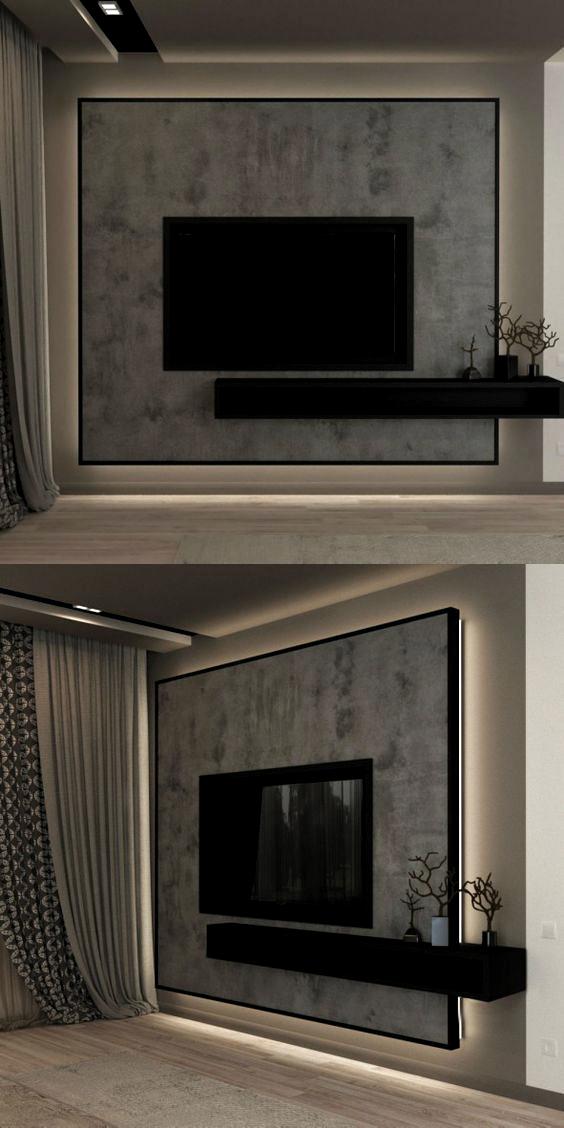 Pin On Room Decor Modern Tv Unit Designs Wall Tv Unit Design Living Room Tv Unit Designs