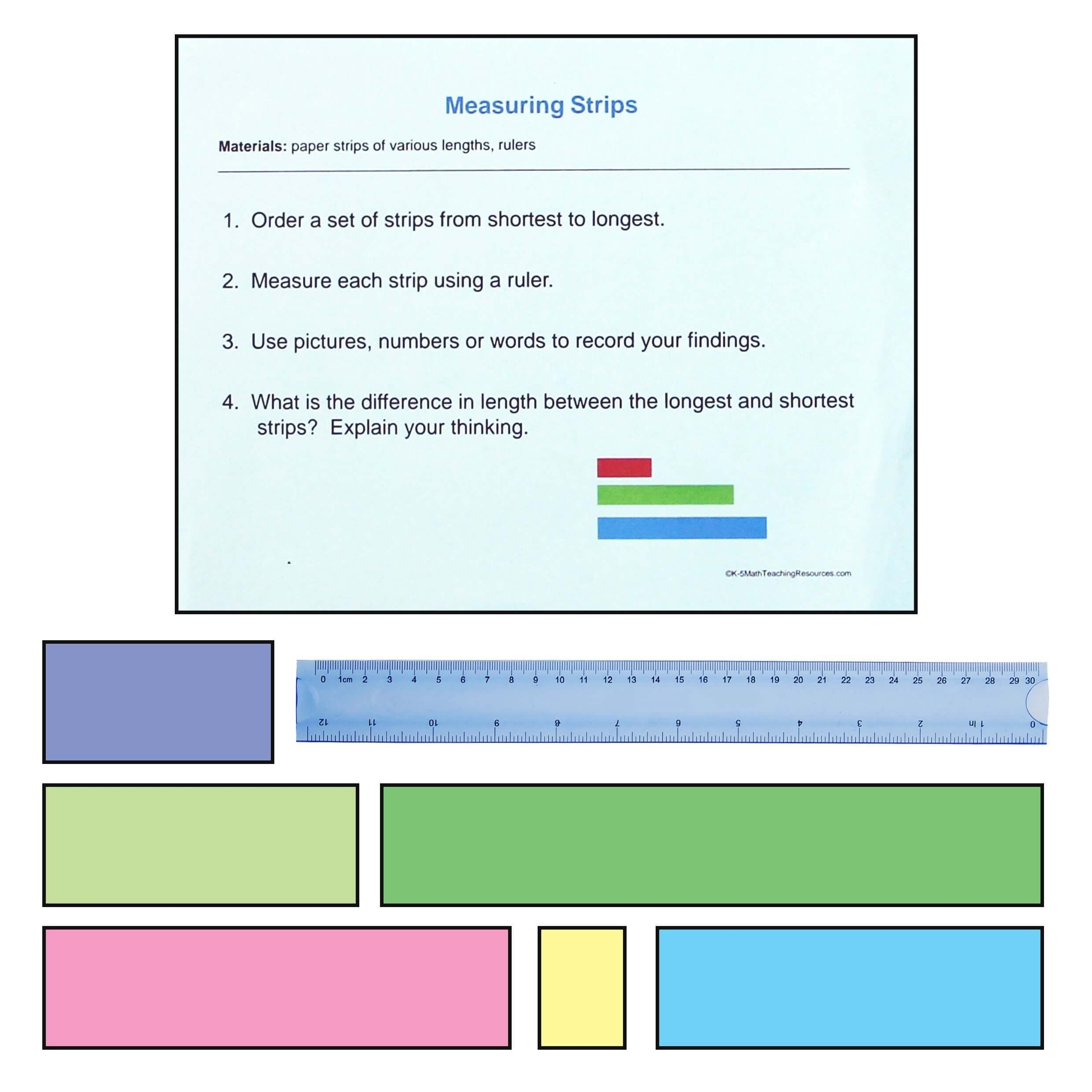 3rd Grade Measurement Worksheet 2nd Grade Measurement And