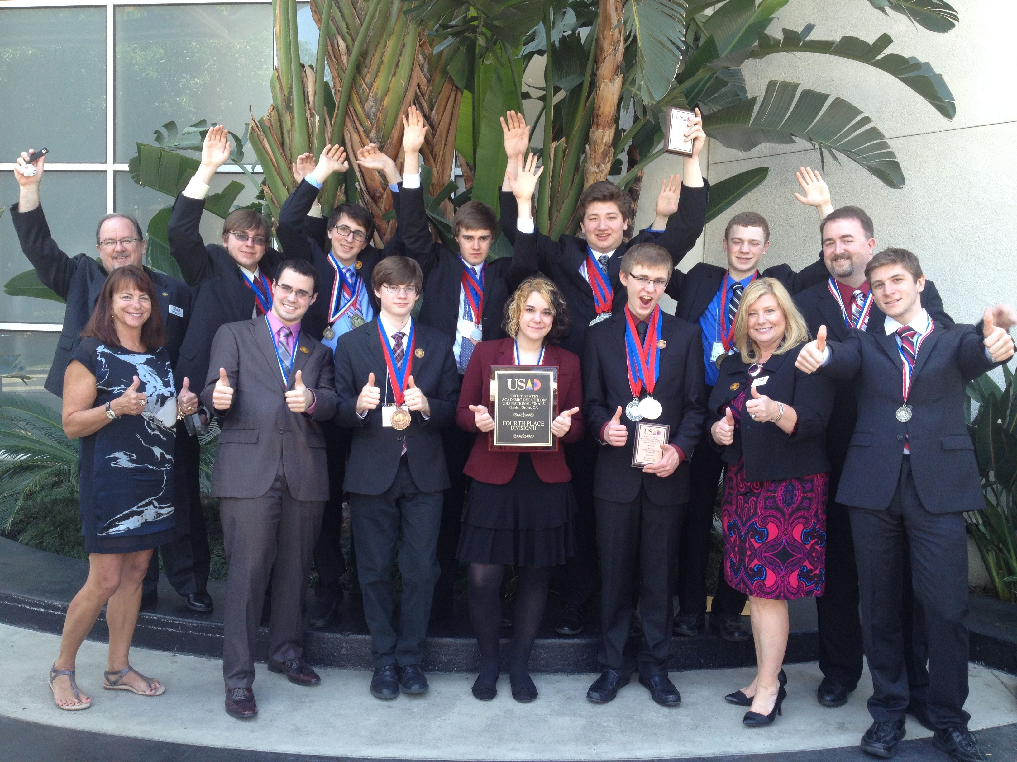 b850e4d91 GCI is a proud sponsor of the GCI Academic Decathlon. The 2015 State Champs  from