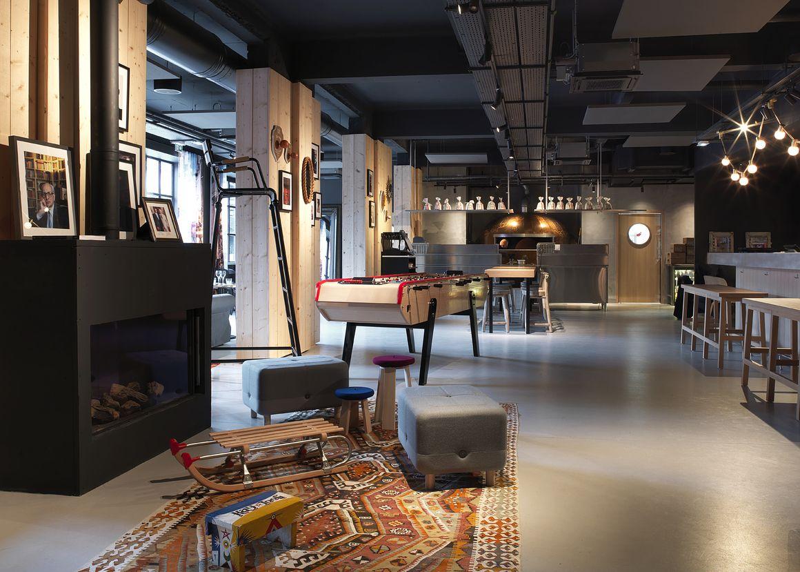 Mob hotel o le nouvel hot spot de saint ouen en 2019 for Hotel design paris 8