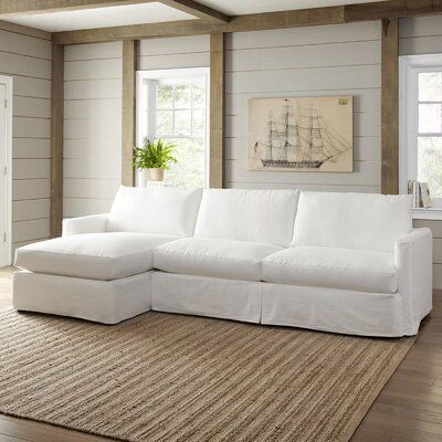 "Leisure 121"" Sectional 