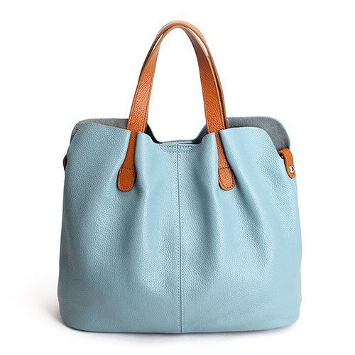 Kenoor Leather Tote Shoulder Handbags Designer Satchel Bag for Women Summer Bags on Clearance