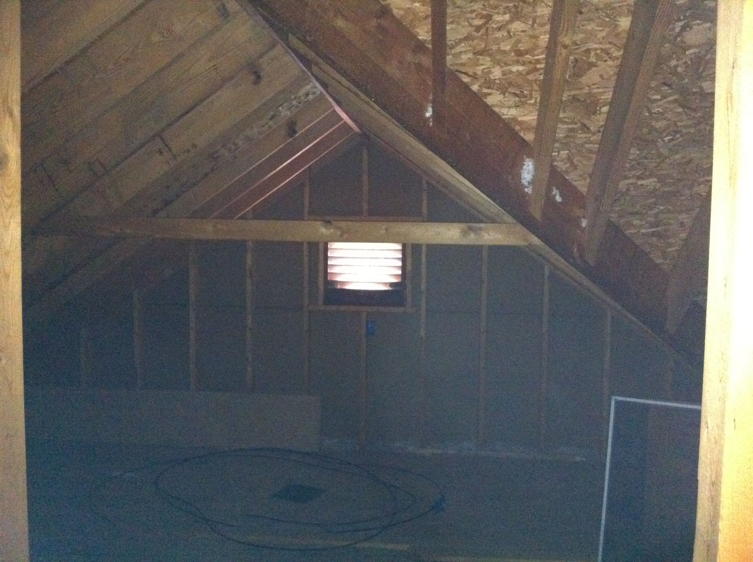 Creating New Space Case Indianapolis And Carmel Attic