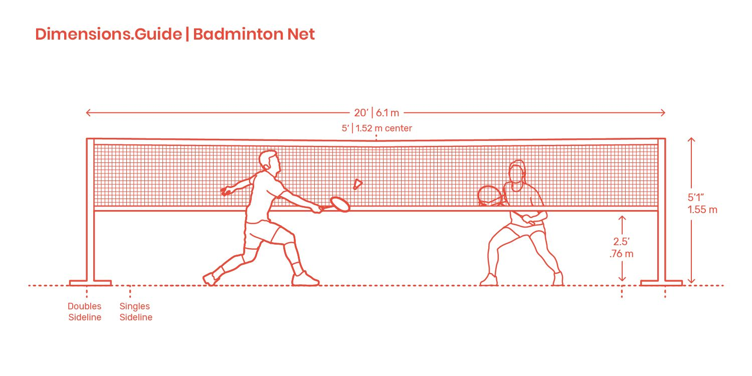 Badminton Net Badminton Nets Badminton Net Height Badminton