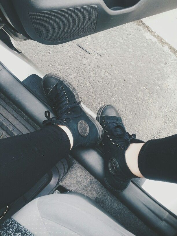 da1ecec21469 kinda want some black converse right now because they d go with every piece  of