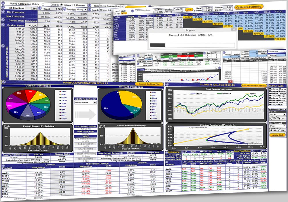 The Excel Portfolio Performance Tracking Template allows the - investment analysis