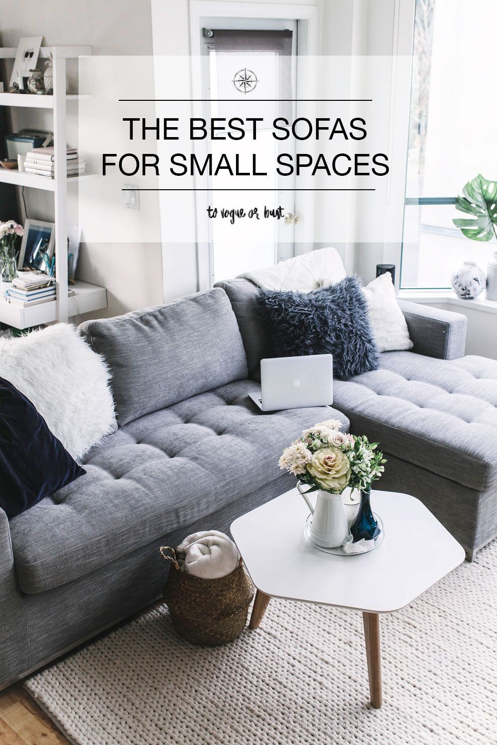 The Ultimate Sofa For Small Spaces To Vogue Or Bust Sofas For Small Spaces Couches For Small Spaces Small Tv Room