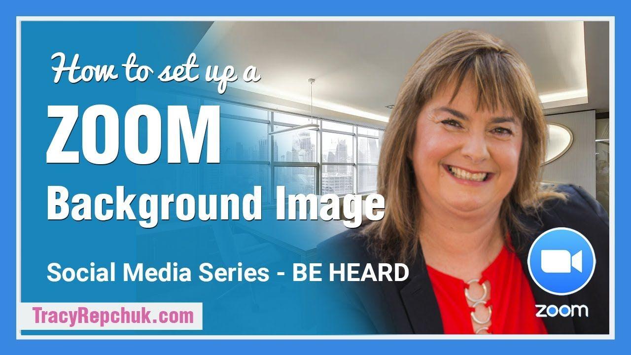 How To Setup A Zoom Background Image Background Images Image Background