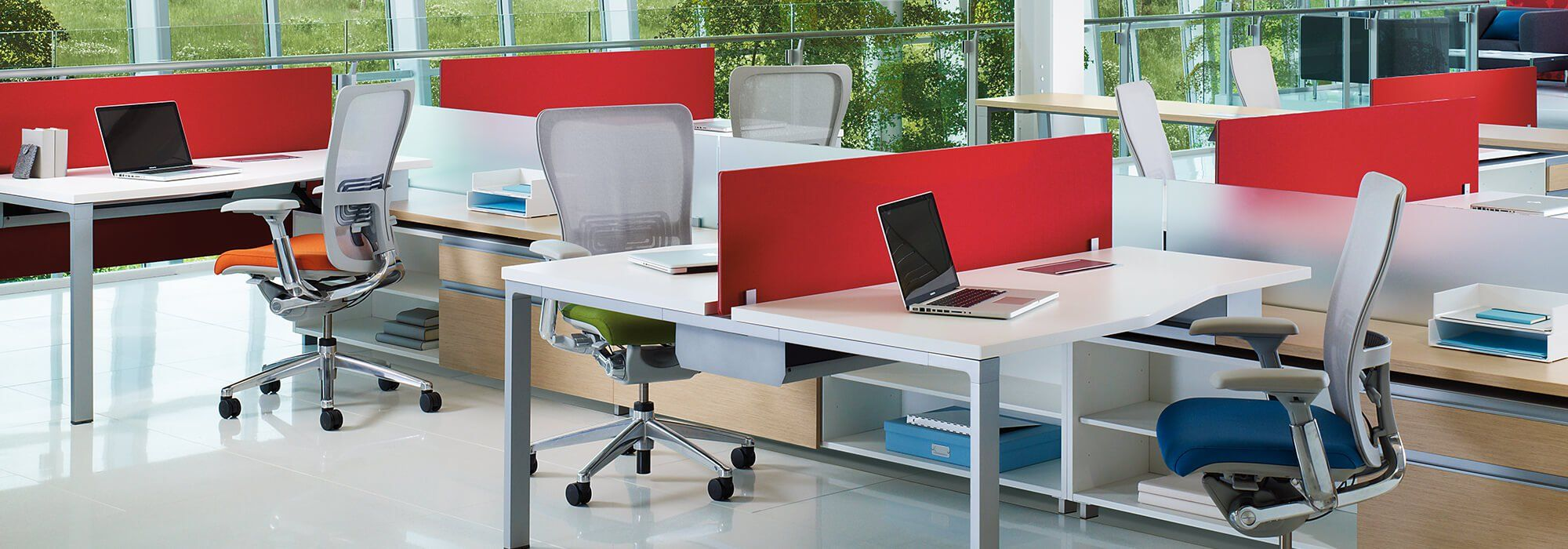 Reside Desking Belong Screens Beside Storage Haworth Accessories  # Haworth Muebles Oficina