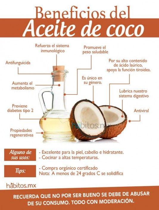 Hábitos Health Coaching Los Beneficios Del Aceite De Coco Nutrition Health And Nutrition Health Food