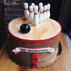 Bowling Cake Nutmeg Cake Design Philadelphia Pa Bowling Cake Bowling Birthday Cakes Cake