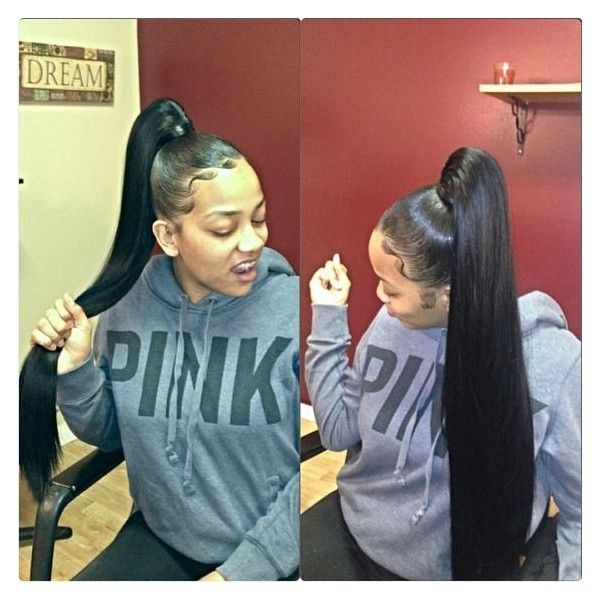 Miink Brazilian Hair Thereal On Instagram When They Really Love They Hair They Whole Attitude Change Diva F Ponytail Styles Sleek Ponytail Brazilian Hair