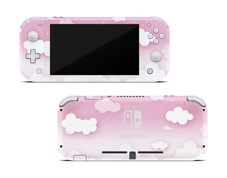 Pink Clouds In The Sky Skin For The Nintendo Switch Lite Nintendo Switch Nintendo Nintendo Switch Case