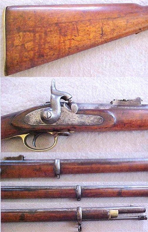 Pattern 1853 Enfield rifle musket | LETTERS FROM WAR novel