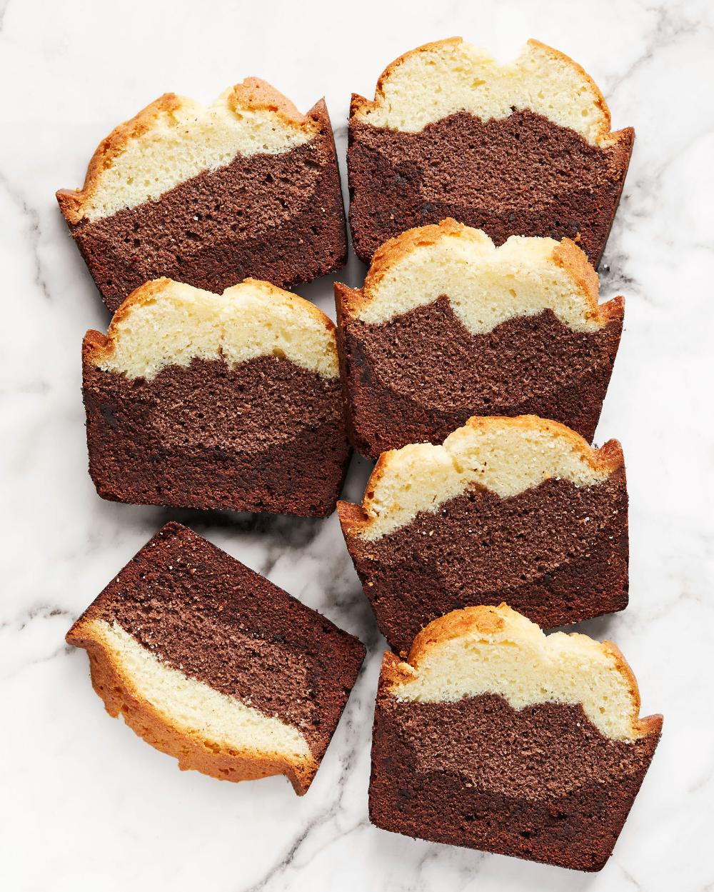 Three Layer Marble Pound Cake On Platter Pound Cake Recipes Marble Pound Cakes Cake Recipes